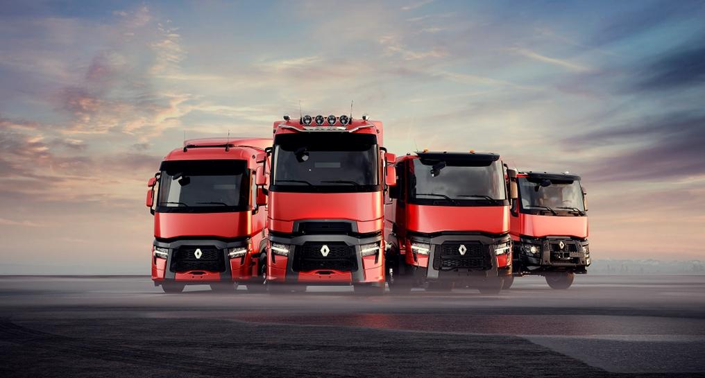 Renault Trucks T, C og K Evolution